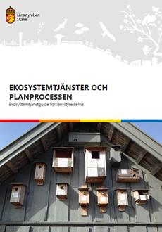 Framsida på rapporten Ekosystemtjänster och planprocesser