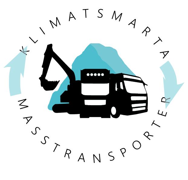 Bilden visar logotypen för projektet Klimatsmarta masstransporter